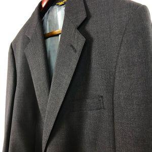 Brooks Brothers grey lightweight wool blazer
